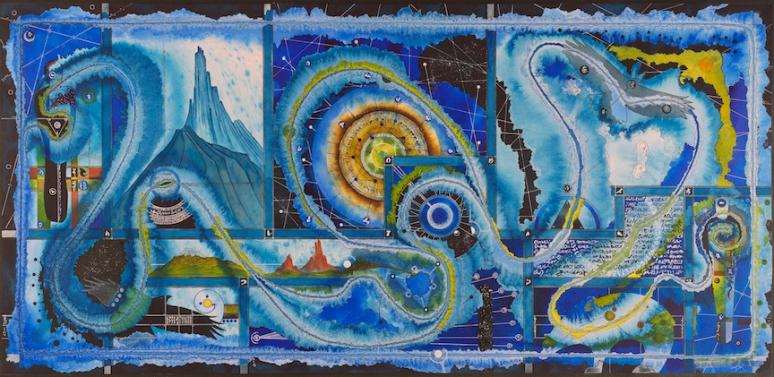 Blue Hunter - 18x36 original size prints available, 13x19 prints available