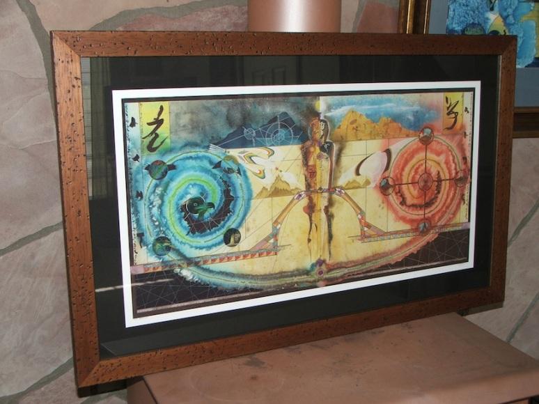 Framed 14x29 Inch Print (edition 44)